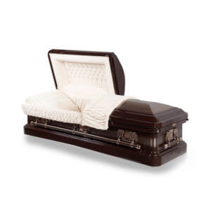 Antique Bronze - 18 Gauge Steel Casket