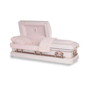 Athena Rose - 18 Gauge Steel Casket