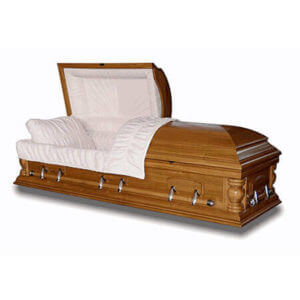 Ash - Solid Wood Casket