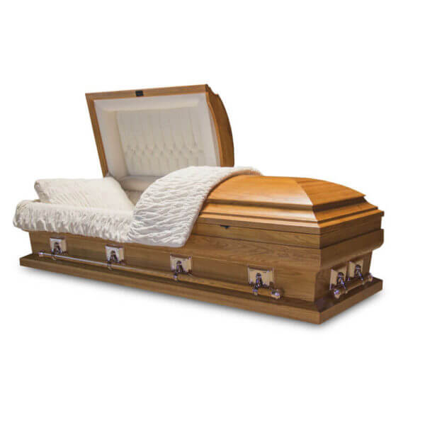 Charleston - Solid Wood Oversized Casket