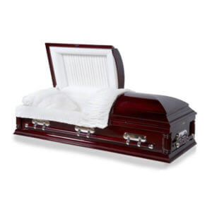 Estate 28 - Solid Poplar Wood Oversized Casket
