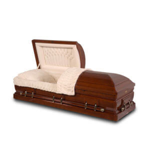 Executive - Solid Cherry Wood Casket