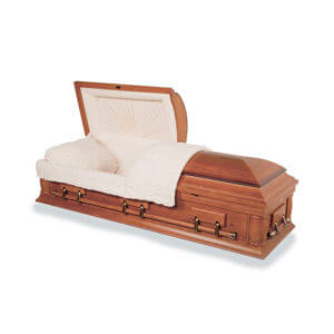 Oak Hardwood Casket - Rustic Oak | Dignified Caskets