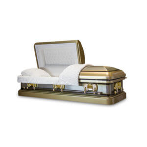 Tiger Eye - 18 Gauge Steel Casket