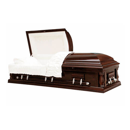 Walnut Solid Wood Casket