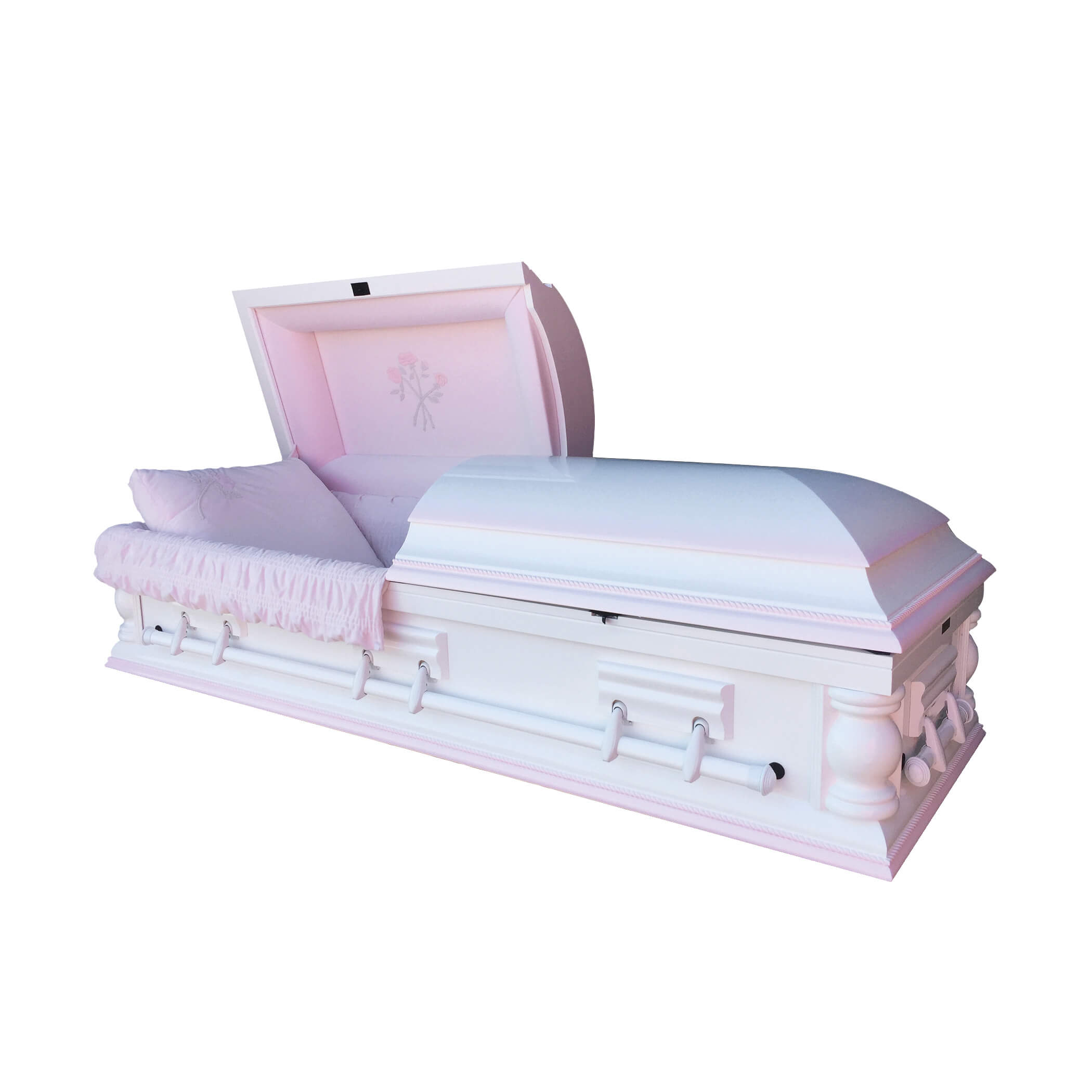 Mother Solid Poplar Hardwood Casket Sky Caskets