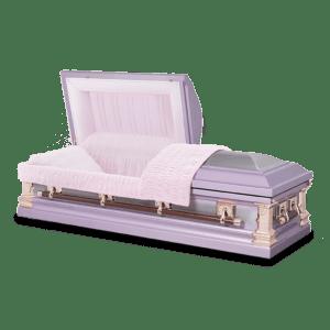 18 gauge Lilac Silver
